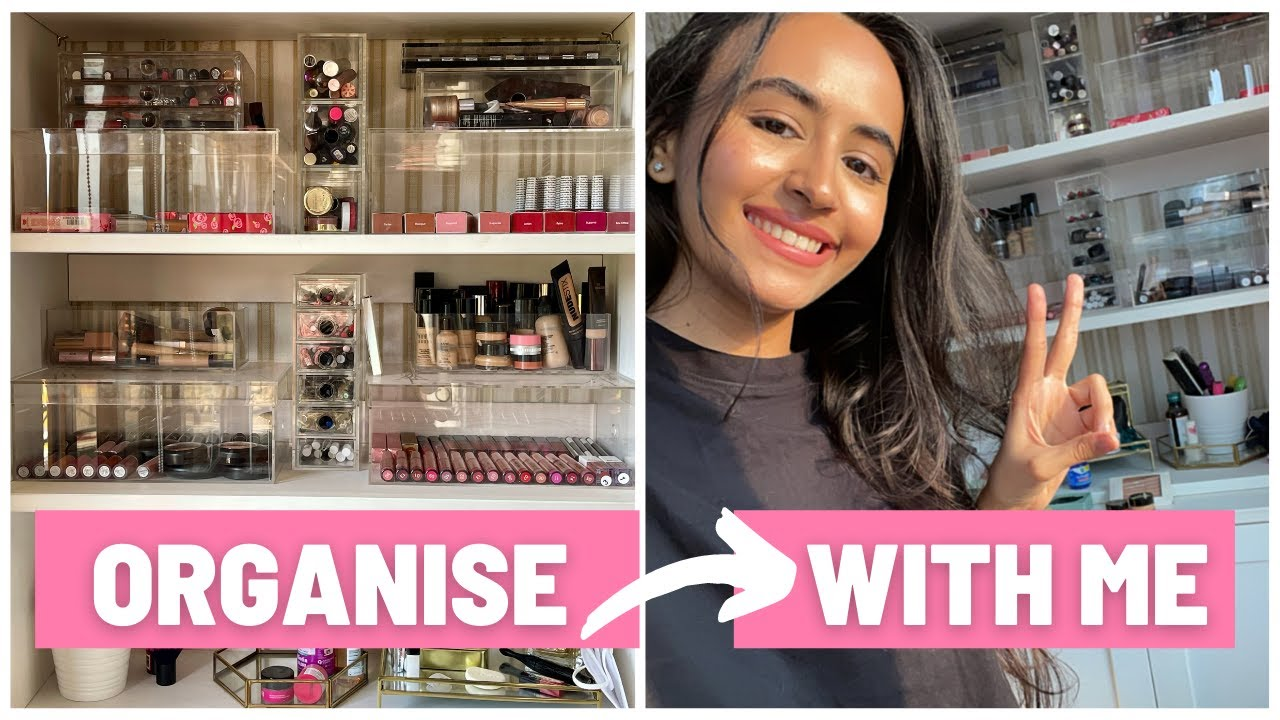 Finally showing you how I organise my makeup | PART 1