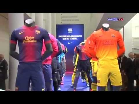 Nike - FC Barcelona 2012-2013 Home/Away Jersey