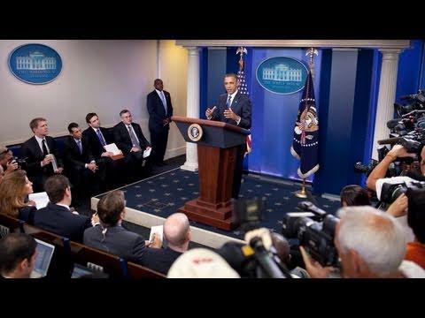 President Obama Briefs the Press on Progress in Deficit Talks