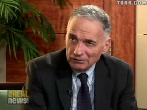Ralph Nader speaks on an Obama presidency Part 1