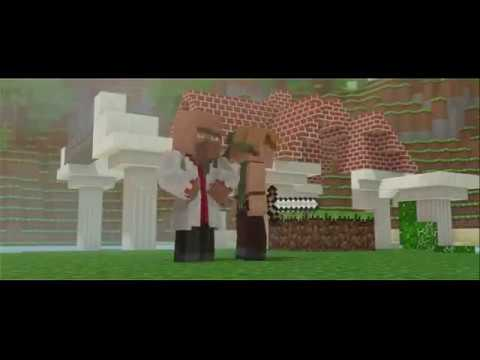 Alone MineCraft Animation  By Los Pros Gamers