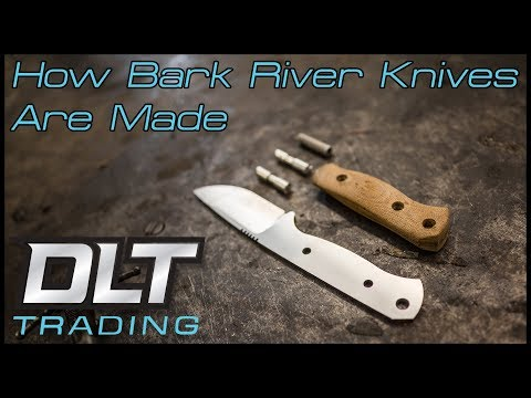 How Bark River Knives Are Made