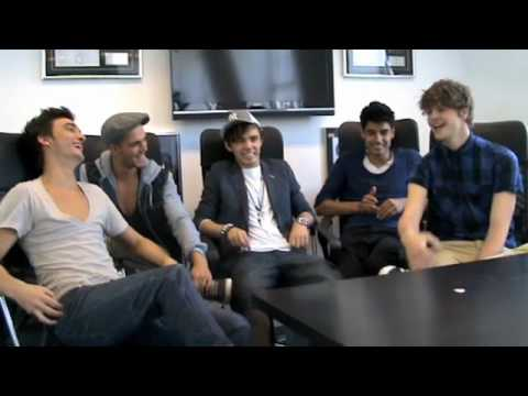 EF Interview The Wanted (Part 1)