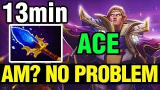 AM? NO PROBLEM! - Ace Plays Invoker - Dota 2