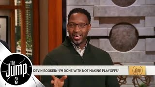 Tracy McGrady: Devin Booker's comments mean he'll demand trade if Suns not winning | The Jump | ESPN