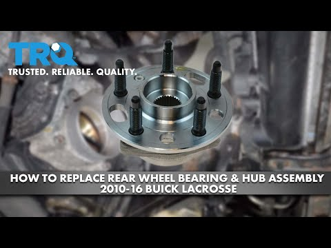 How To Replace Rear Wheel Hub 2010-16 Buick Lacrosse (AWD)