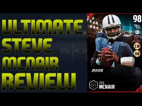 98 Ultimate Legend Steve McNair Review | Madden 17 Ultimate Team Player Review