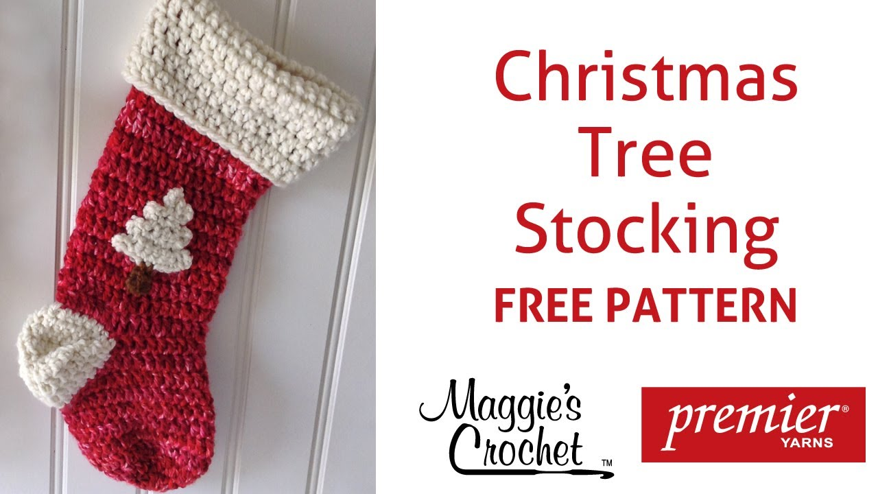 Christmas stocking free crochet pattern right handed youtube christmas stocking free crochet pattern right handed bankloansurffo Gallery