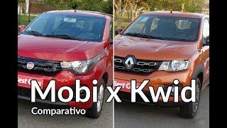 Renault Kwid chama Fiat Mobi para um desafio | Comparativo | Best Cars