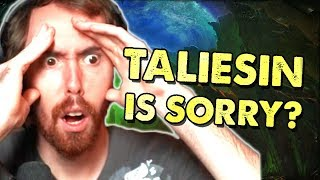 Asmongold Reacts To ASMONGOLD ATE MY HOMEWORK  Taliesin Makes An Apology To Asmongold
