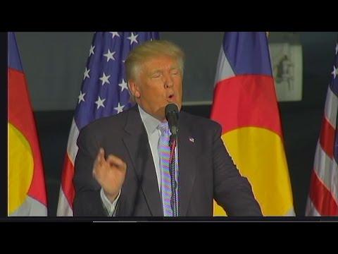 FULL SPEECH: Donald Trump speaks in Denver