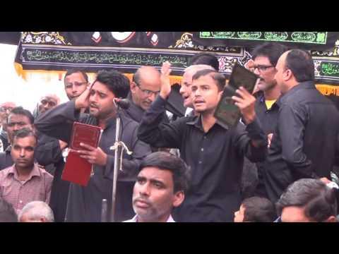 Dekh Kar Akbar Ki Halat Hath Malte Hain Husain | Zulfeqaria Jafrabad | 1 Safar Mustafabad 2016