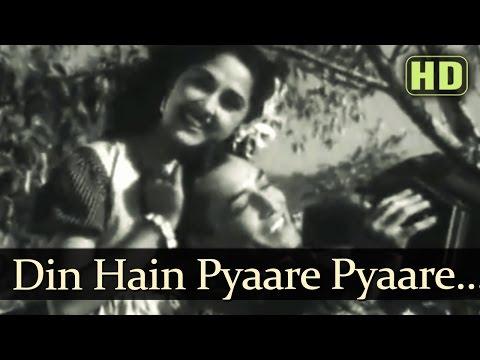 Il Le Beli Din Hain Pyaare Pyaare - Songs Of Kali Ghata - Kishore - Bina Rai - Shankar Jaikishan