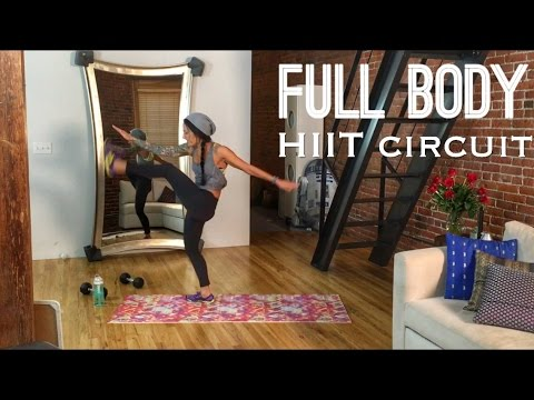hiit full body fatburning home workout hotter for the