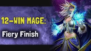 Hearthstone Arena | 12-Win Mage: Fiery Finish (Rastakhan #21)