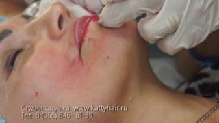 Курсы татуажа бровей 6D, глаз и губ в Kattyhair