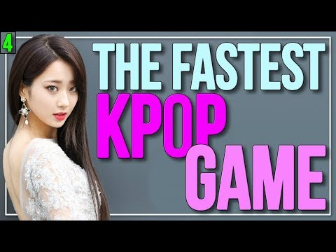 THE FASTEST KPOP GAME 😱🕑 | KPOP Challenge | Part 4 | Difficulty: Hard