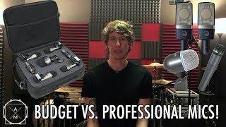 Budget vs. Pro Drum Microphones!