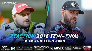 Chris Harris & Nicolai Klindt | 2018 Semi Final 2nd Leg Reaction | POOLE SPEEDWAY 2020