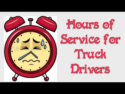 Hours Of Service Explained For Truck Drivers. And Remember What Memorial Day
