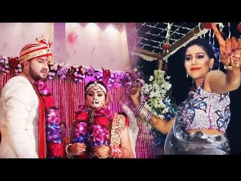 Sapna के भाई की शादी का वीडियो Viral | सपना ने की जम कर मस्ती | Karan Shadi Full Video | Trimurti