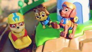 Щенячий Патруль - Водная Горка для котят - Все серии. Paw Patrol toys