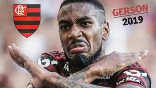 Gerson • Flamengo • Coringa da Gávea • Skills • Passes • Desarmes 2019 HD