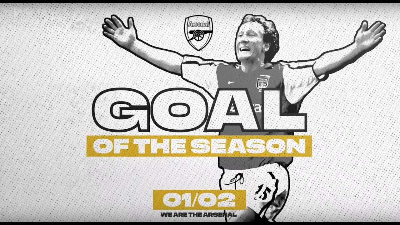 🏆DOUBLE WINNERS 🏆 | Top 10 goals of the 2001/02 season | Henry, Bergkamp, Pires