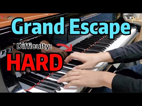 《Grand Escape》Hardest Grand Piano Arrangement!!! | Weathering With You OST (天気の子)