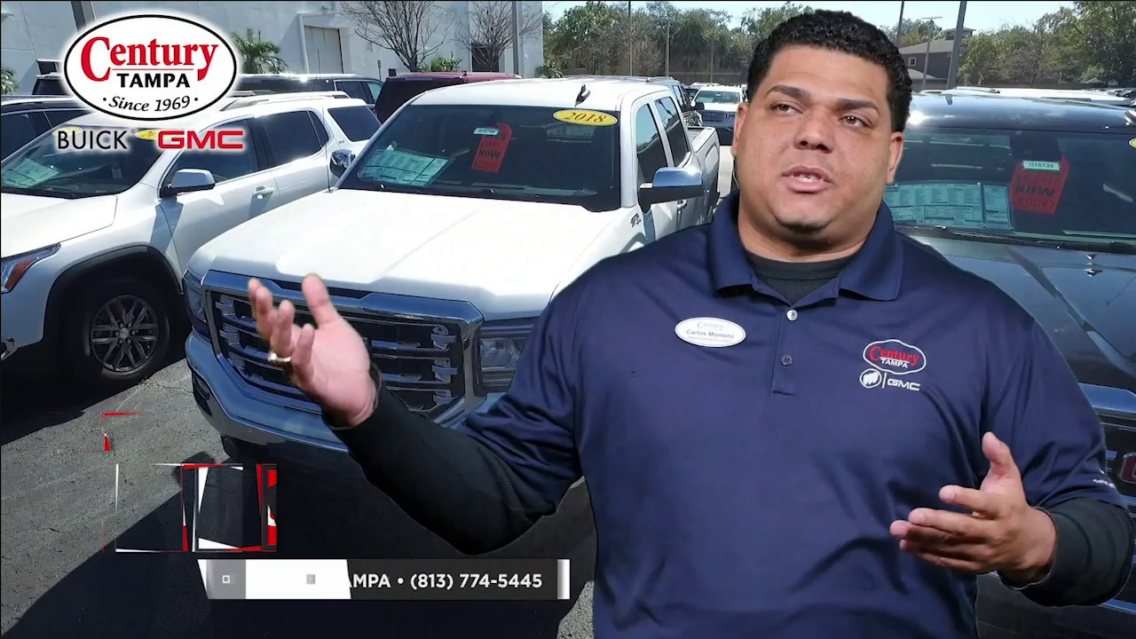 Century Buick Gmc Tampa Fl >> Meet Carlos Montero At Century Buick Gmc In Tampa Fl
