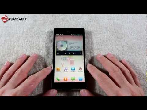DroidSans Review : LG Optimus 4X HD P880 (English sub)