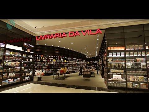 67dda263b49f0 Livraria da Vila - Parque Shopping Maia - YouTube
