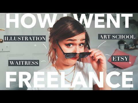 How I Became a Freelance Artist | CLASSYBURD