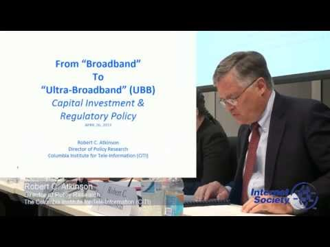 Robert C. Atkinson: The State of Broadband Access & Competition in the US