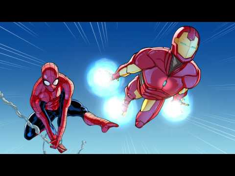 Spider-Man & Iron Man In... Training Day, Part 1 | Marvel Video Comics | Disney XD