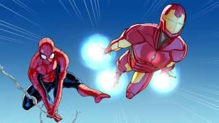 Spider-Man & Iron Man In... Training Day, Part 1   Marvel Video Comics   Disney XD