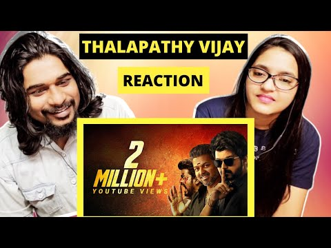 THALAPATHY VIJAY BIRTHDAY Special MASHUP Reaction | SWAB REACTIONS with Stalin & Afreen