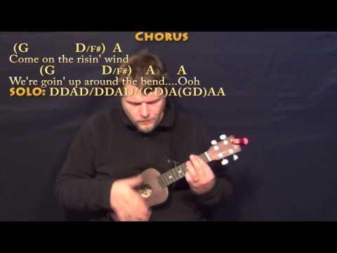 Up Around the Bend (CCR) Ukulele Cover Lesson with Lyrics/Chords