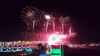 Fireworks -Inauguration  Dubai Canal
