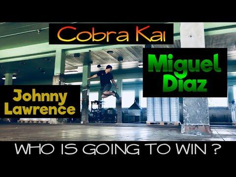 Cobra Kai - Johnny Lawrence VS Miguel Diaz