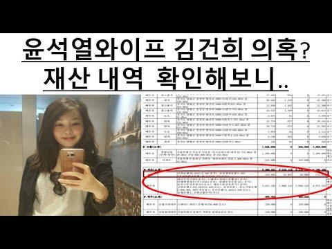 ENG) 윤석열와이프 김건희 의혹? 재산 내역 확인해보니 #투데이이슈