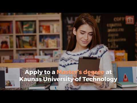 Apply to Kaunas University of Technology 🏛️