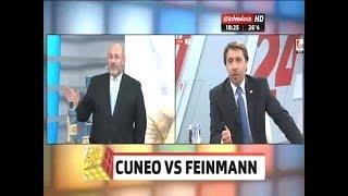 Eduardo Feinmann versus Santiago Cúneo