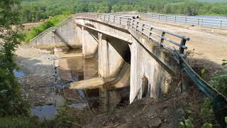 Red House Lake Dam Progress August 13 2017 by Paul Crawford