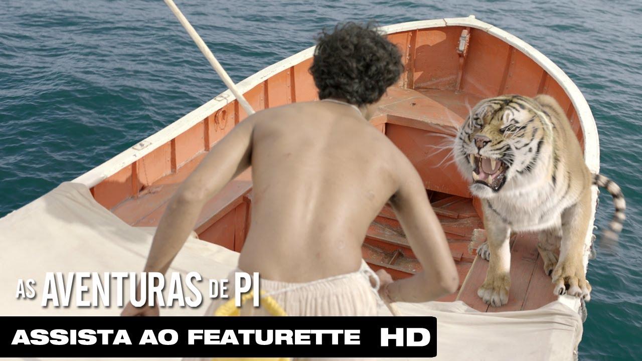As Aventuras De Pi Criando Richard Parker Legendado Hd Youtube