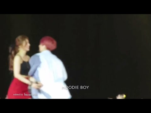 180707 BTS Jungkook & Red Velvet Joy fancam compilation at SBS Super Concert in Taipei 2018