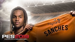 PES 2019 l 🐺 MASTER LEAGUE #03 l RENATO SANCHES É O MAIS NOVO LOBO !