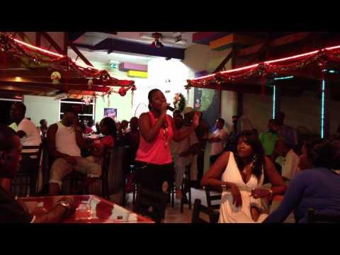 Grenada Karaoke semi-finals 2011:  Tracy-Ann