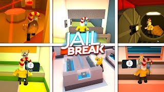 GOING TO ALL THE JAILBREAK ROBBERIES IN ONE GO!!!