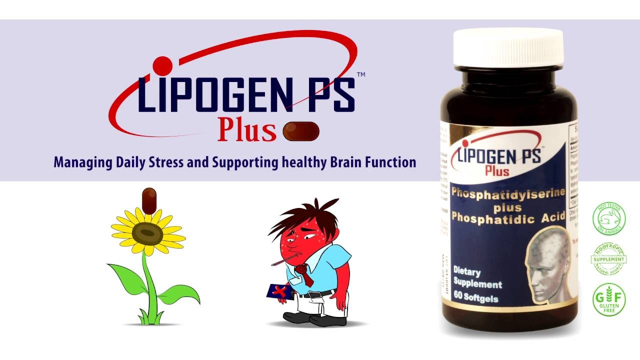 Managing Daily Stress with Lipogen PS Plus